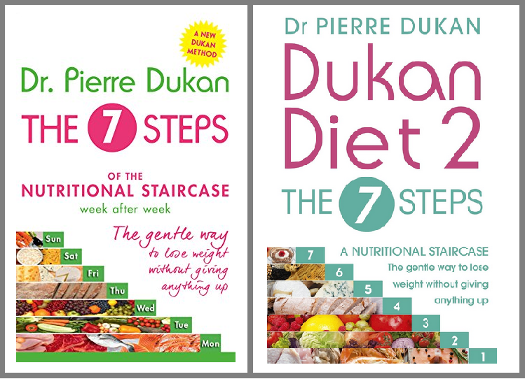 Dukan Diet 2: 7 Steps of the Nutritional Staircase ...